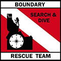 Boundary Search & Dive Rescue Team Badge