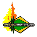 Idaho Dept. of Lands Badge
