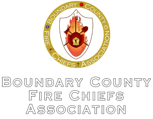 Boundary County Fire Chiefs Assocation Logo